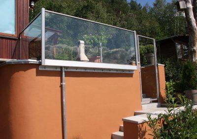 Glasmontage Beispiel 1