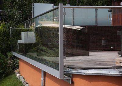 Glasmontage Beispiel 2
